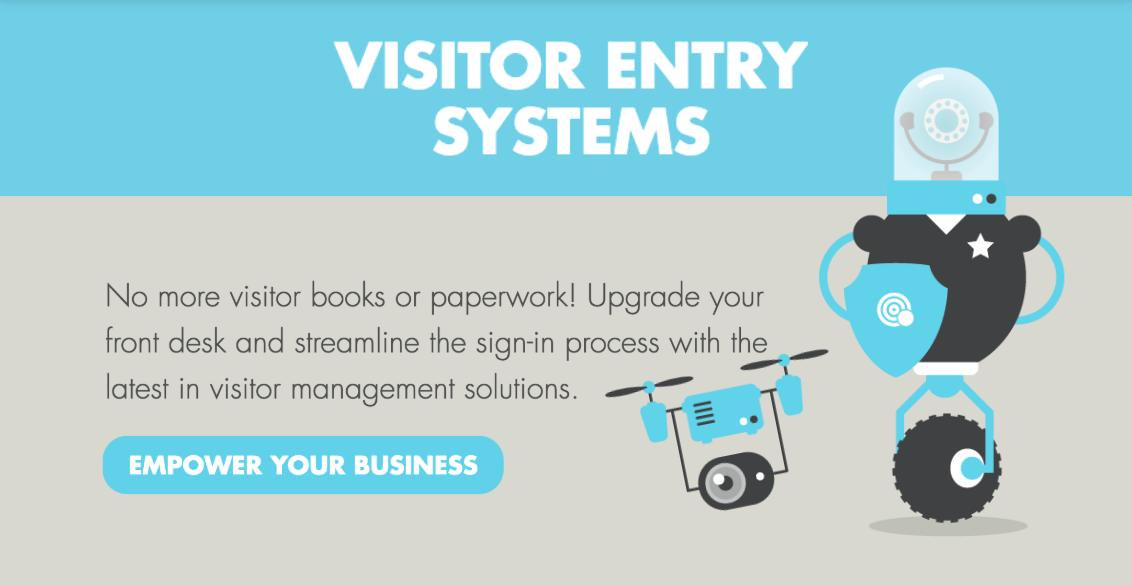 Visitor entry systems